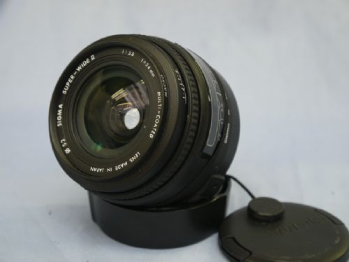 24mm F2.8 SIGMA AF MACRO PRIME SUPERWIDE ANGLE LENS FOR CANON EF MOUNT £59.99